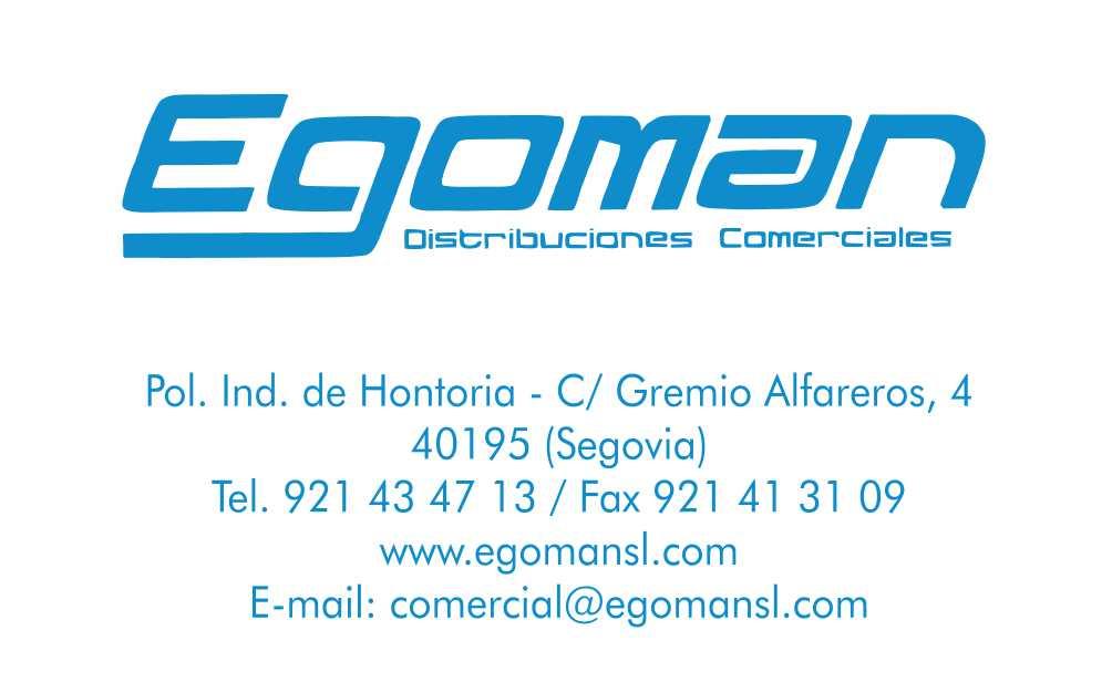 EGOMAN PEGATINAS - FONDO BLANCO
