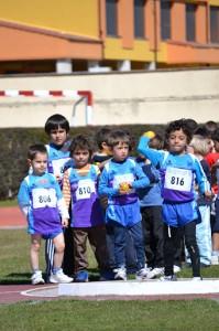 ATLETAS DEL BLUME Y DEL VELOX EN UNA DE LAS ACTIVIDADES REALIZADAS POR EL CLUB EN 2012.